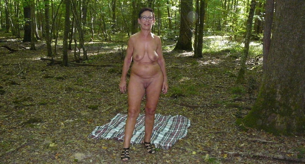 Wife Naked Woods