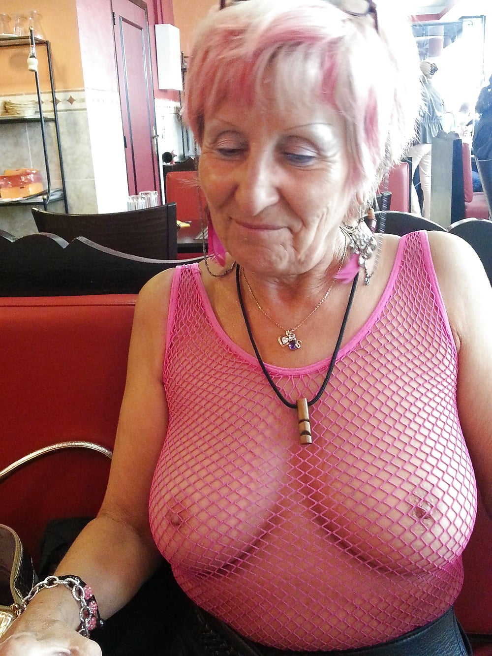 Sexy Old French Granny - 46 Pics  Xhamster-2068