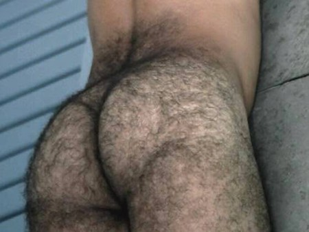 with hairy asshole a Guy