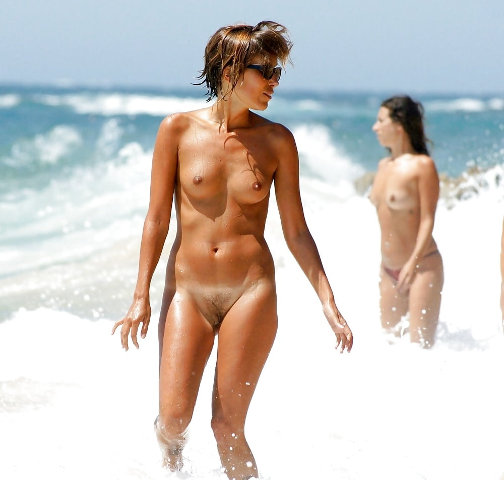 Hot naked spanish girl on beach — 8