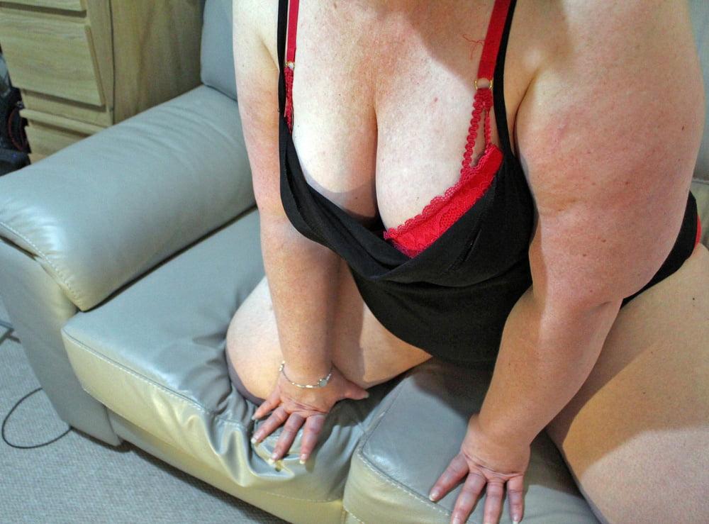 Amateur sheer lingerie