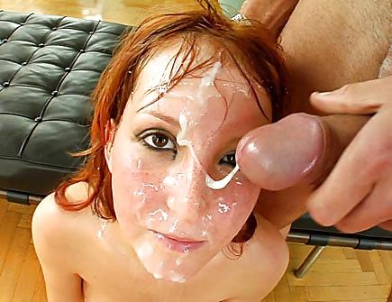 Redhead cum video
