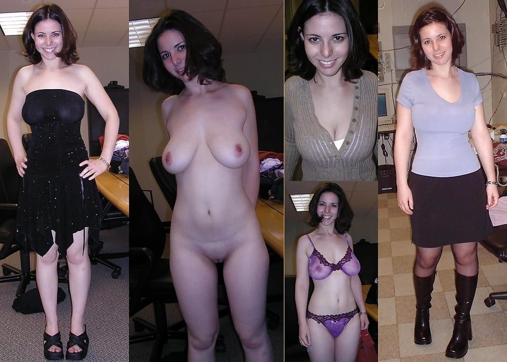 Clothed unclothed pics amateur — img 13
