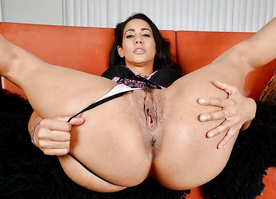 Free Latina Porn Pics Hairy Latina Laurie's Blue Lingerie
