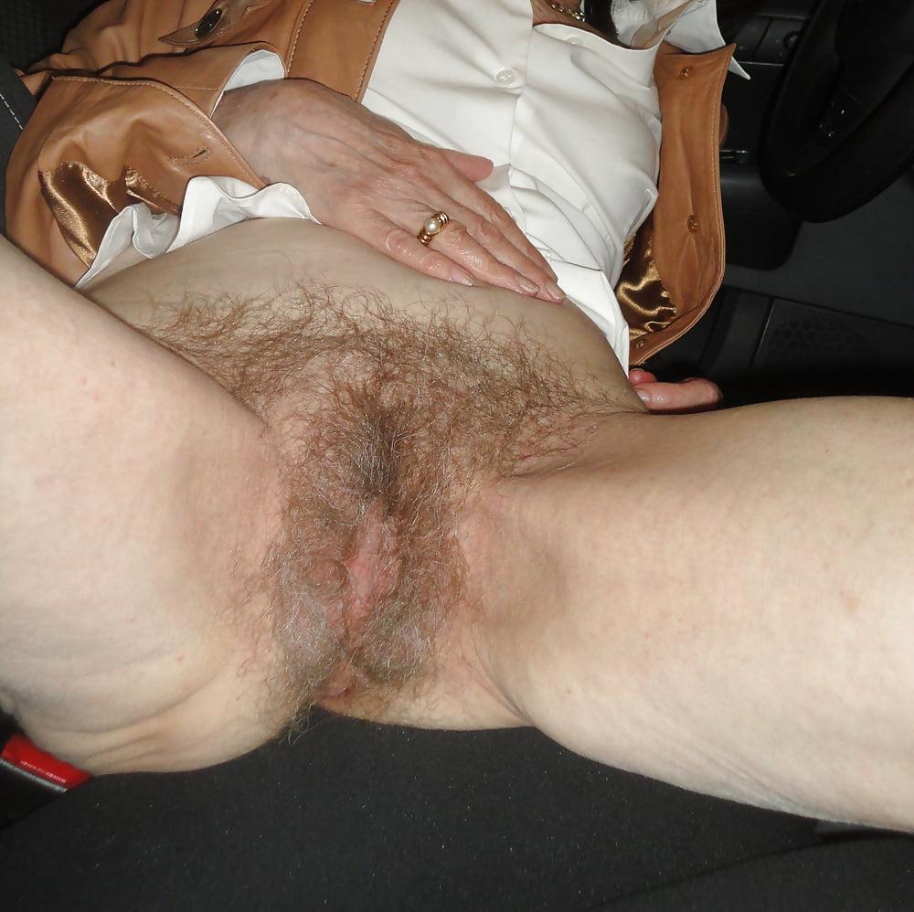 Granny Hairy Pussy Creampie