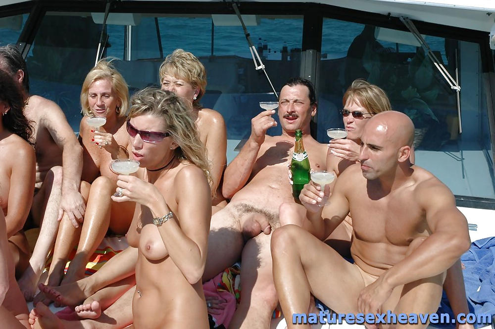 Mature boat party sex — img 6