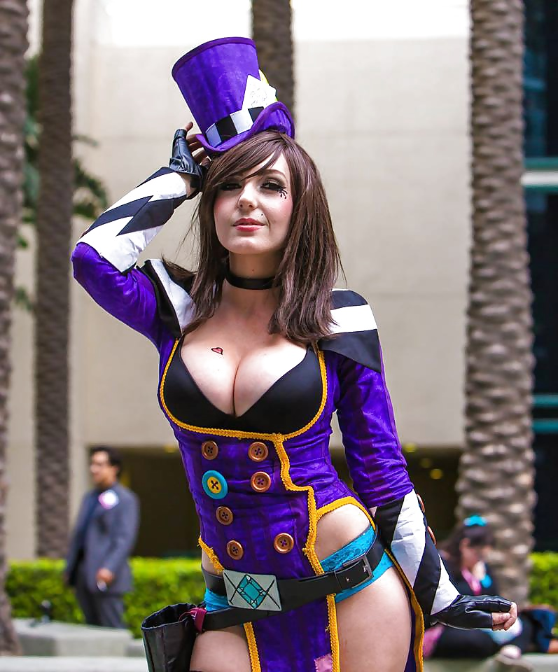 Steam Mad Moxxi Cosplay Daughter Swap 1