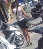 Sexy girl High Heels skirt legs Escarpins talons jupe jambes