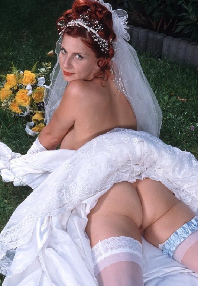 Bride brides wife milf mom wedding porn pictures