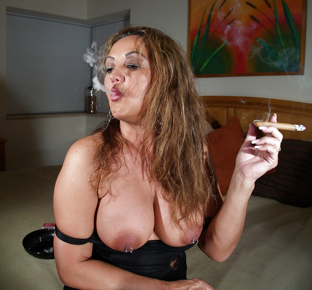 Porn free smoking milf movies
