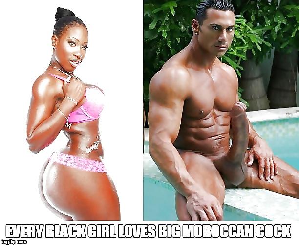 Huge moroccan cock