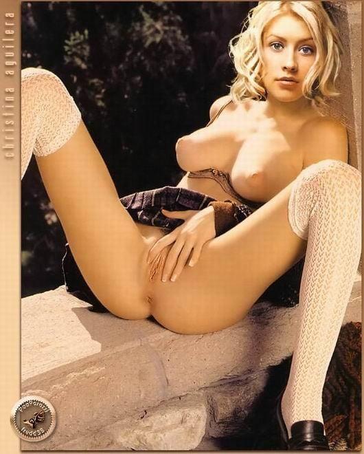 Christina aguilera fake nude