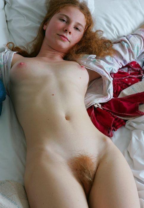 Clementine Orange Pubic Hair #4