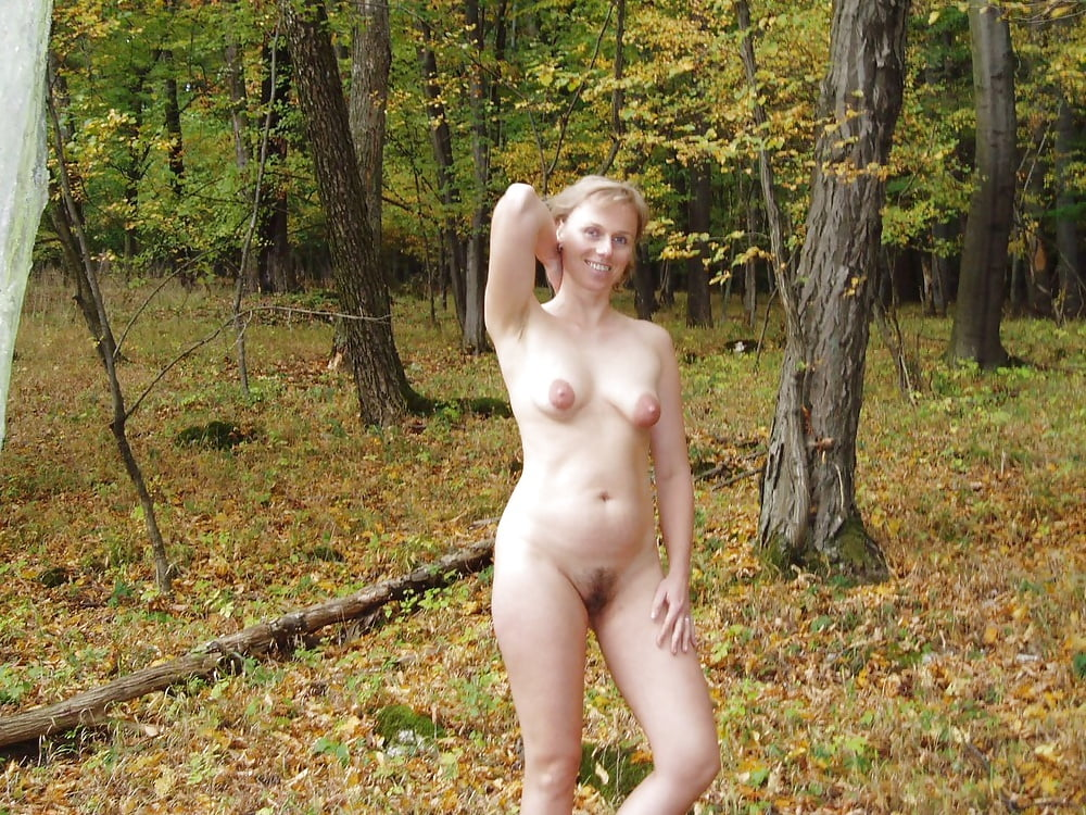 Wife naked forest — 1