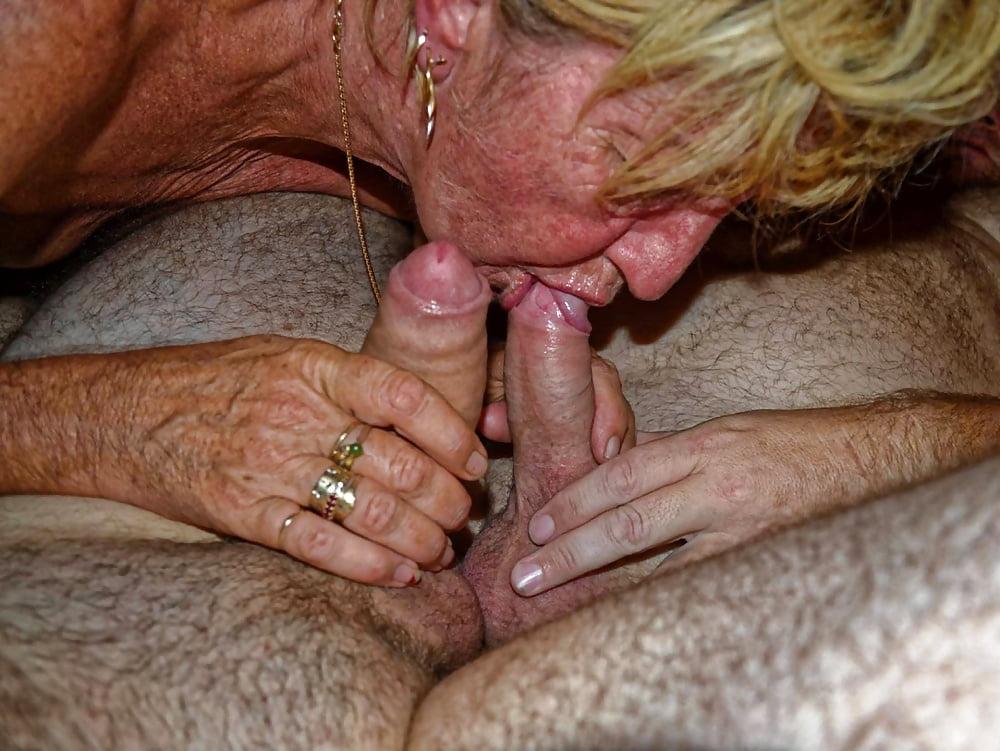 Elderly cock sucking slut — img 13