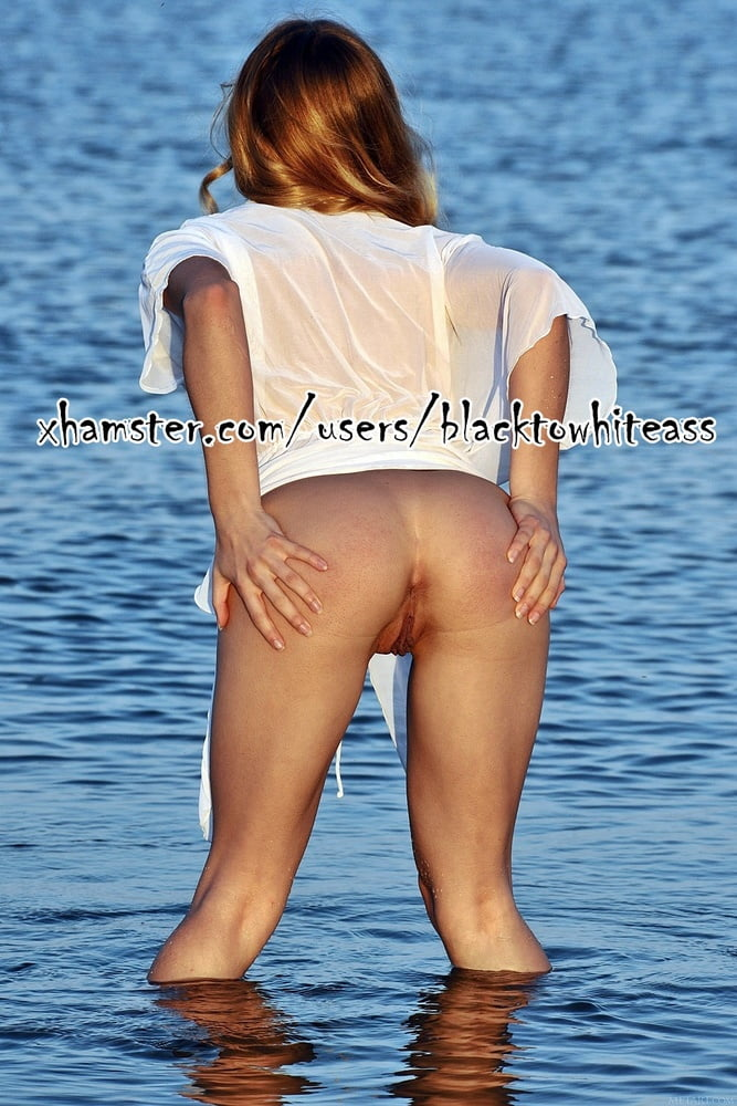 Little pussy visits the lake for the second time set # 04 - 12 Pics