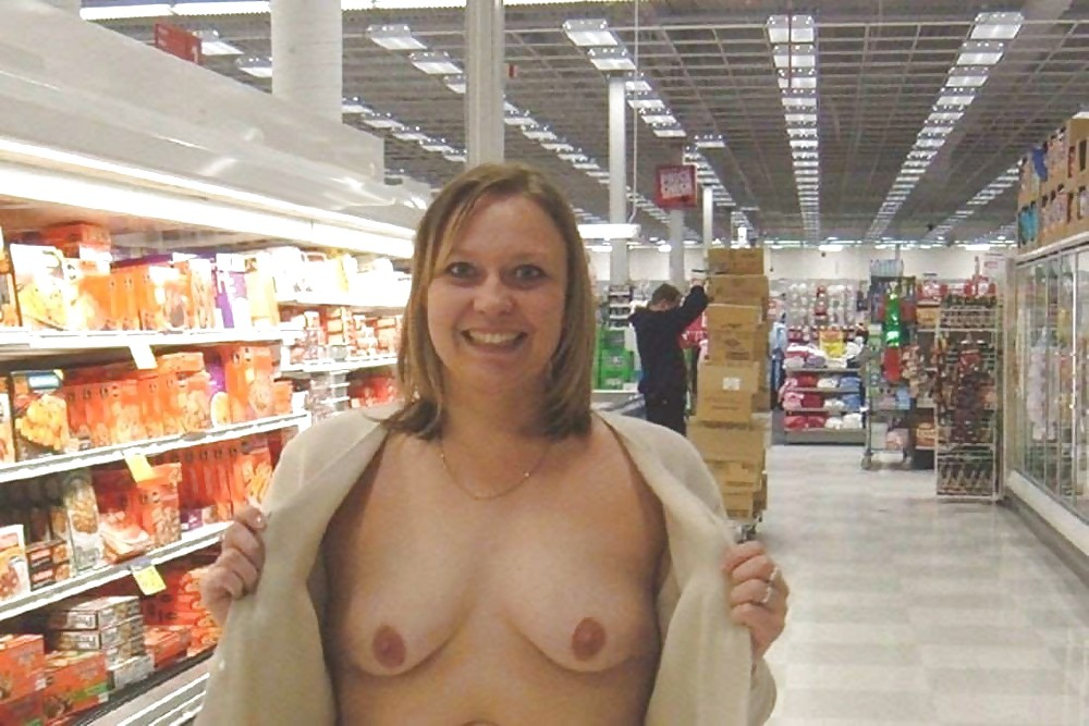 Girl nude at walmart — pic 12