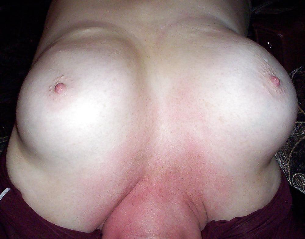 Homemade black tits