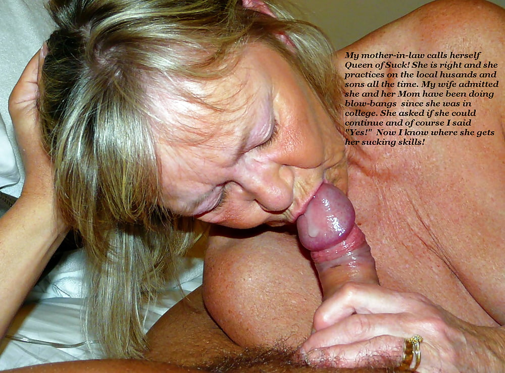 Mother in law cum anal