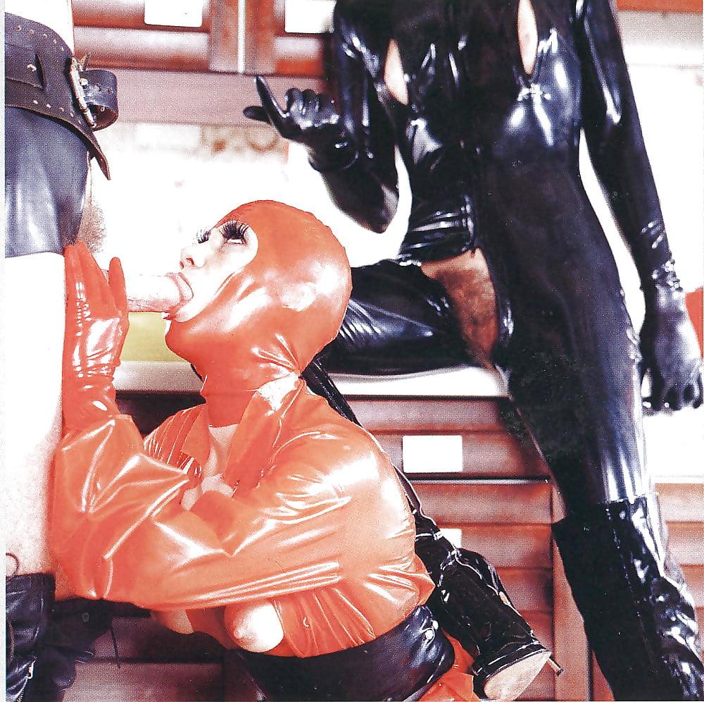 Bizarre rubber fetish hot naked