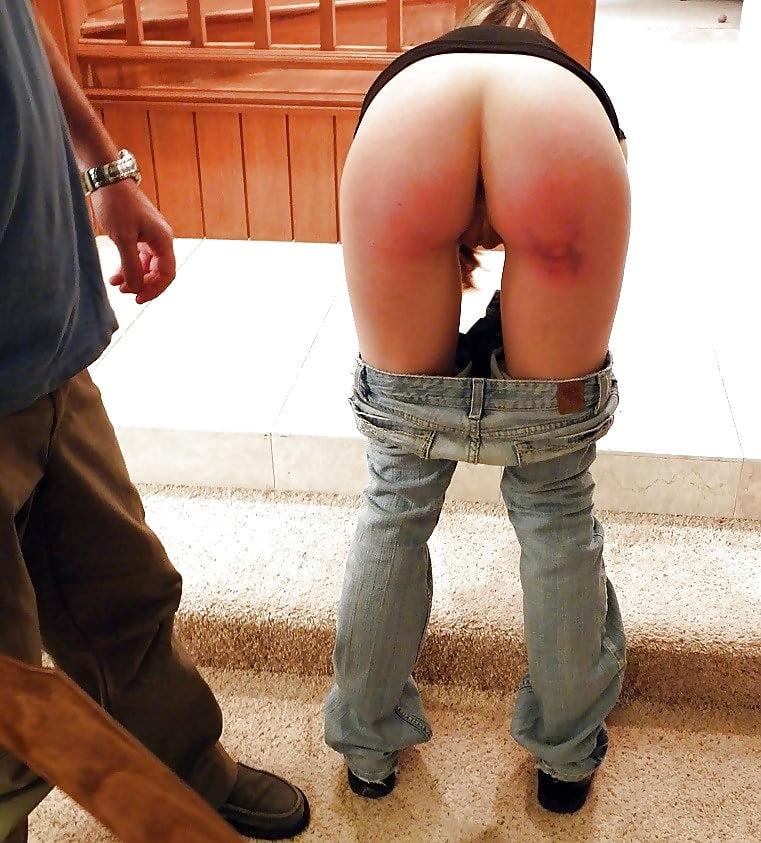 Bare ass punishment