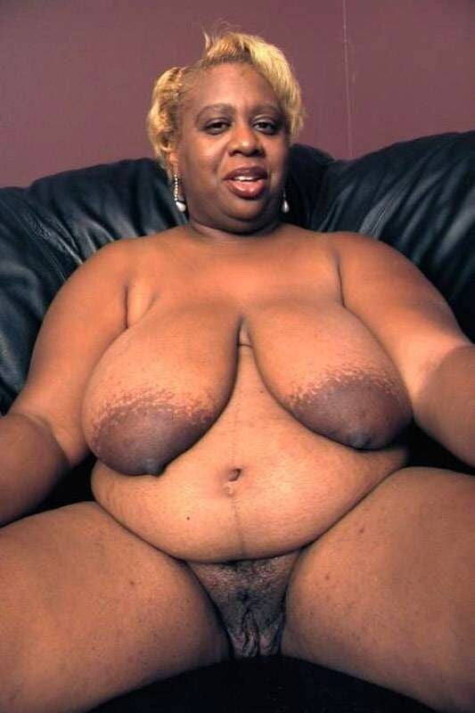 Fat nude black women old