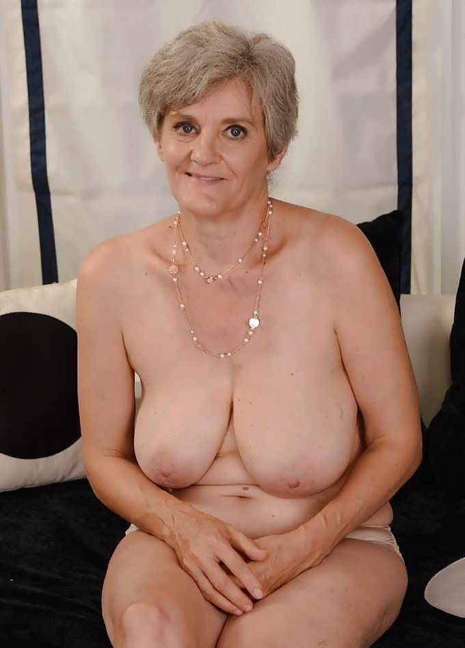 Big Boobed Nude Older Woman