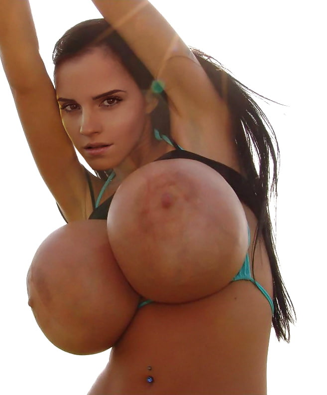 Big silicone boobs tits