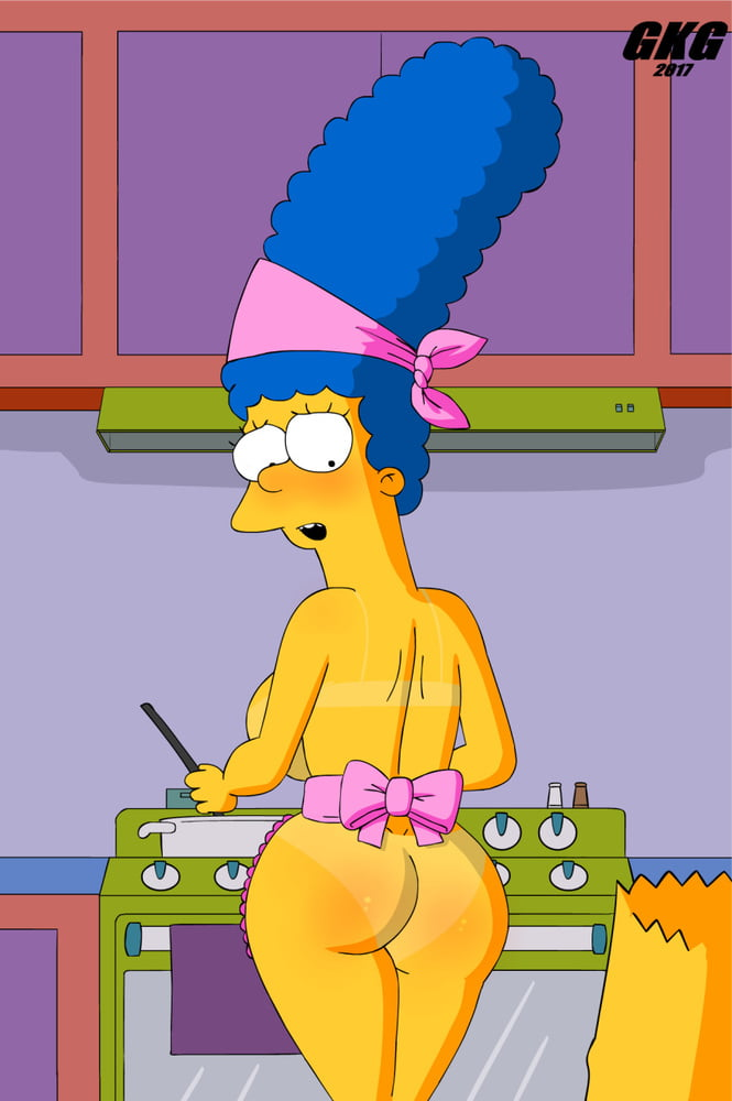 Naked pictures of marge simpson