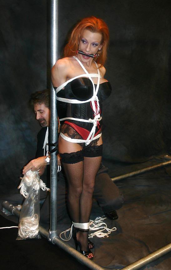 Shannon Kelly Bondage Model