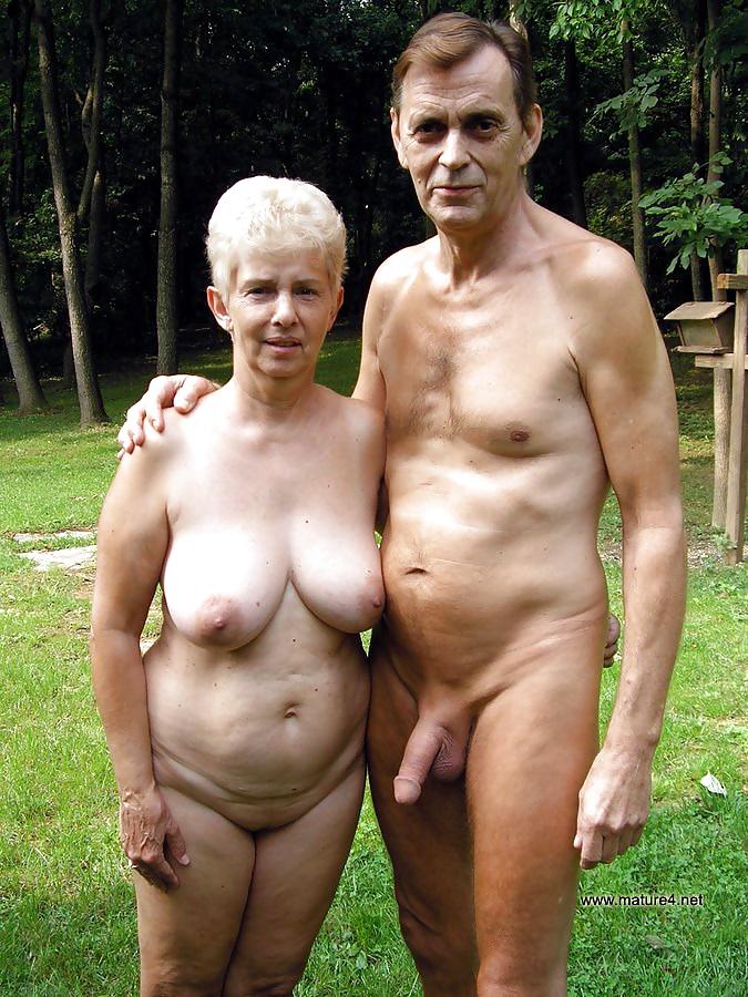 Nackt opa Opa Nackt
