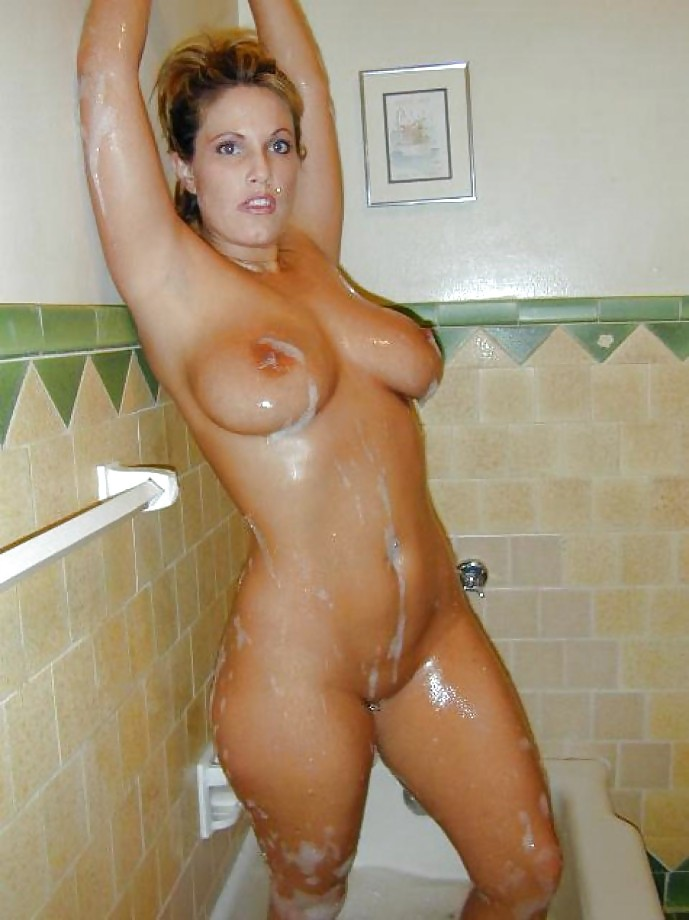 brunette-milfs-nude-in-shower