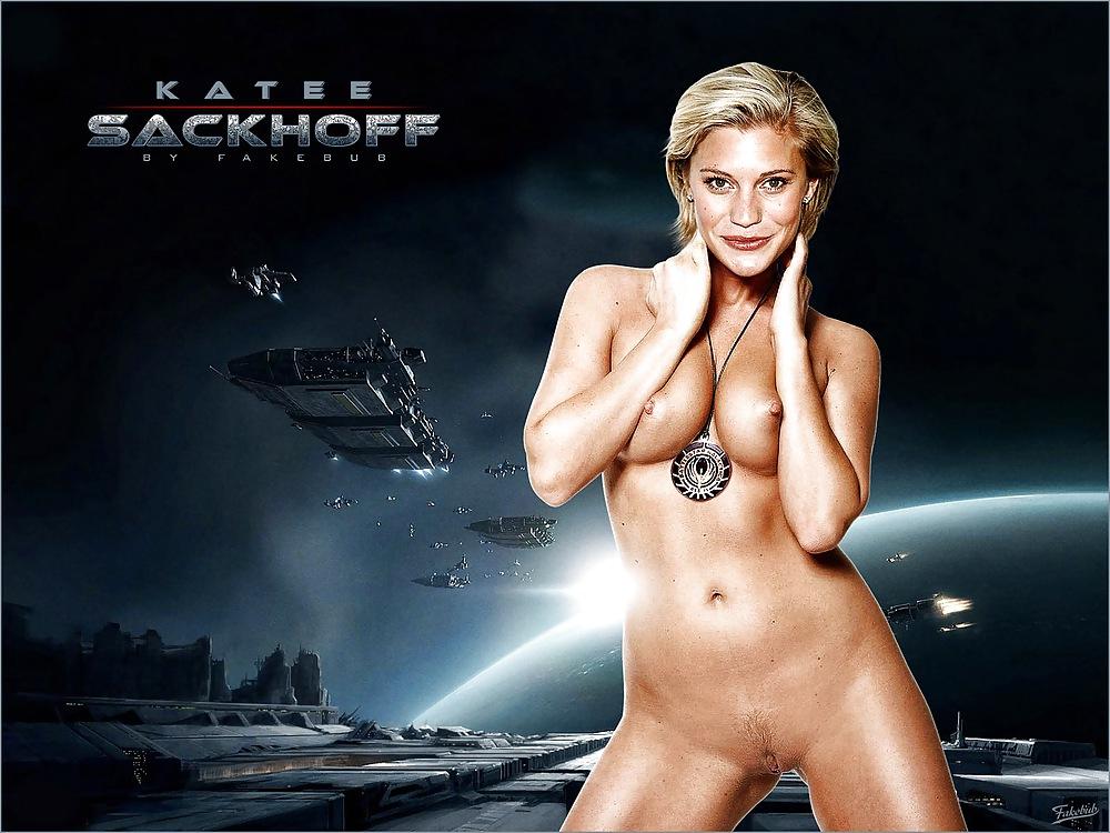 Watch katee sackhoff riddixk