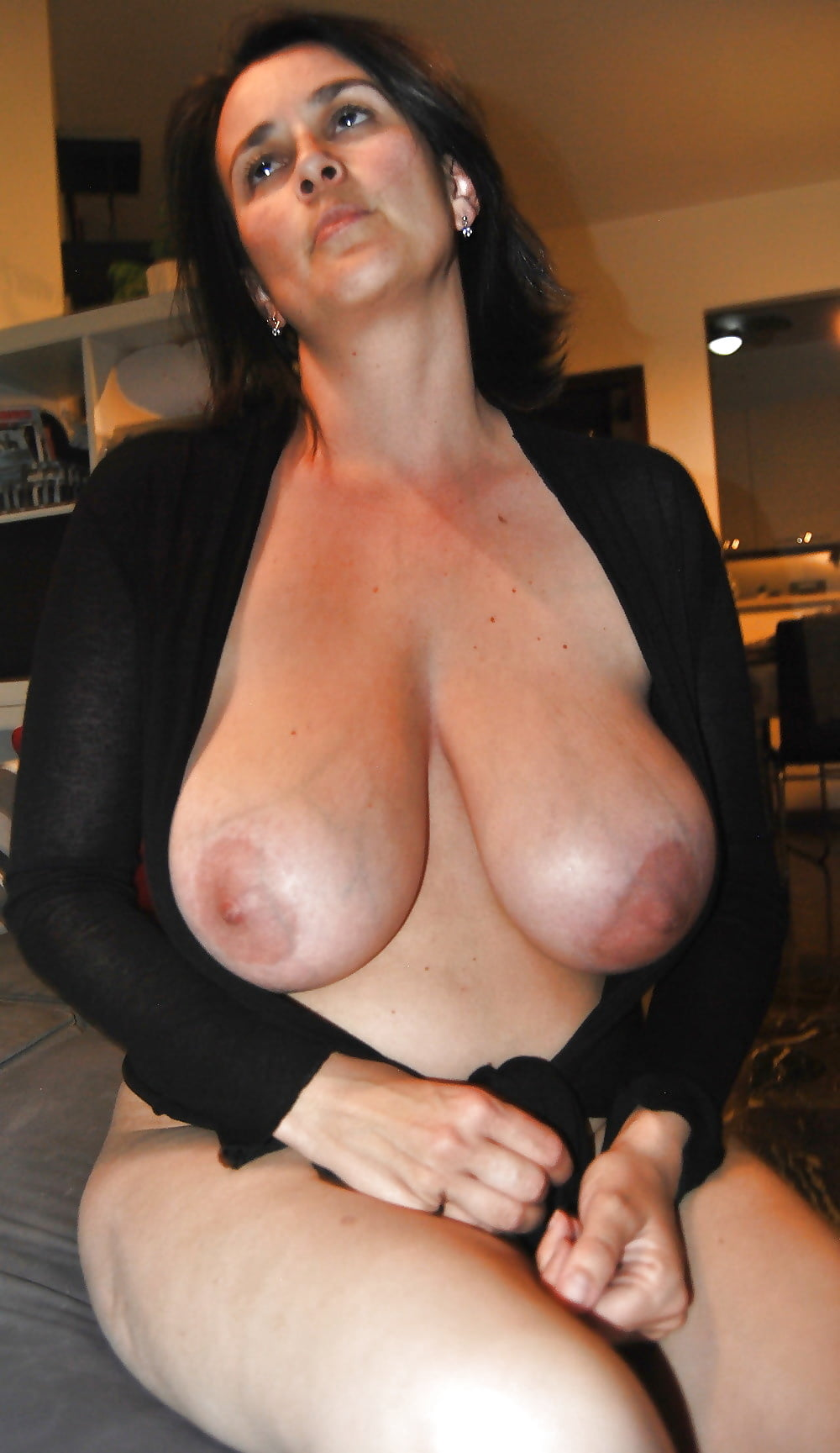 Paola, Sexy Italian Milf With Huge Tits And Hairy Pussy -8539