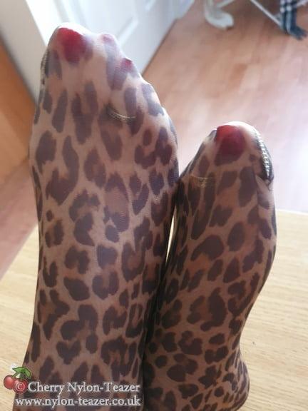 Ho Ho Ho - Leopard Legs - 32 Pics