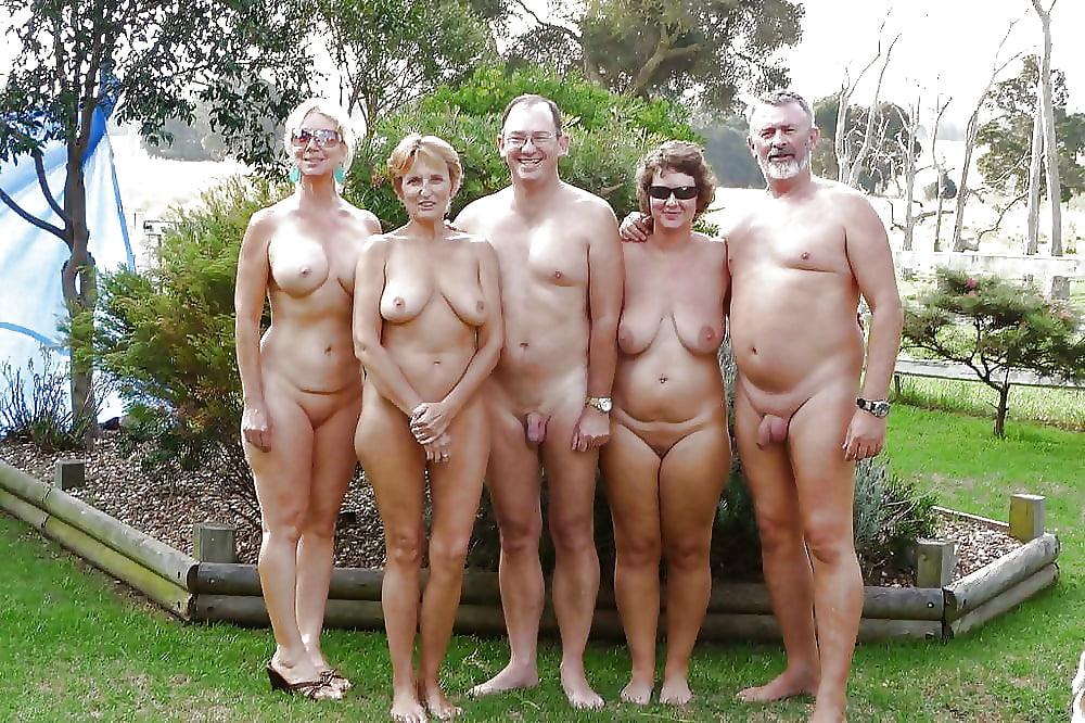 Family photo naked