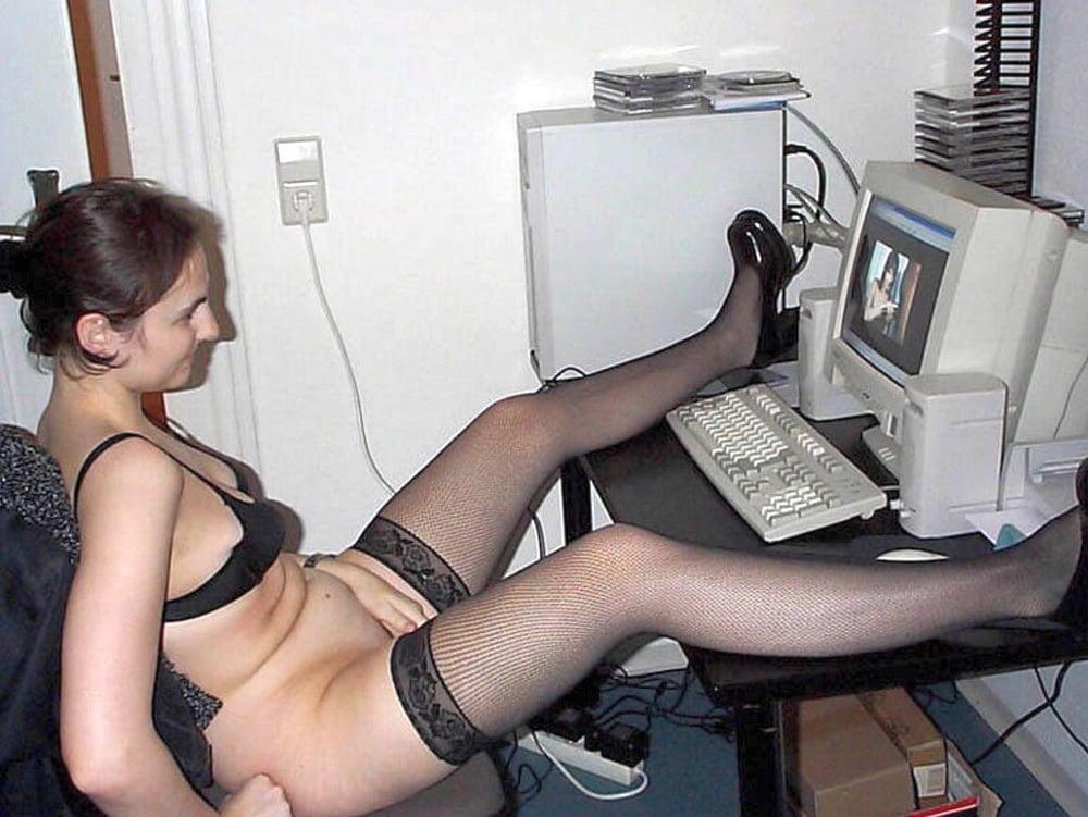 Hard amature nude computer geeks