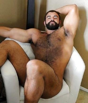 Men bear nude