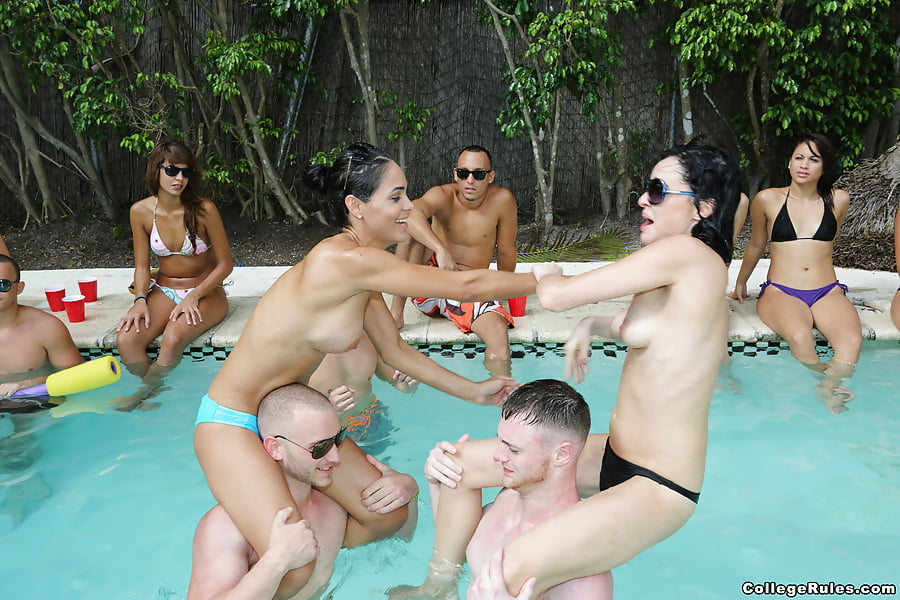 Pool Party Nude Scenes