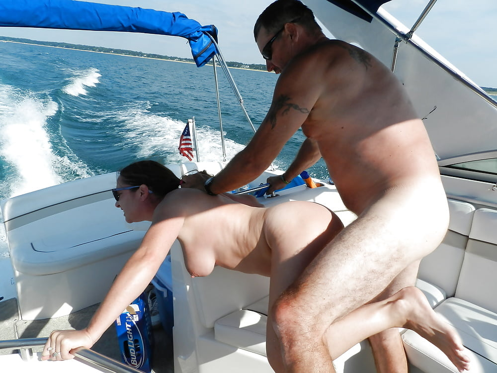 Skyler nicole sexy black girl ride dick on boat