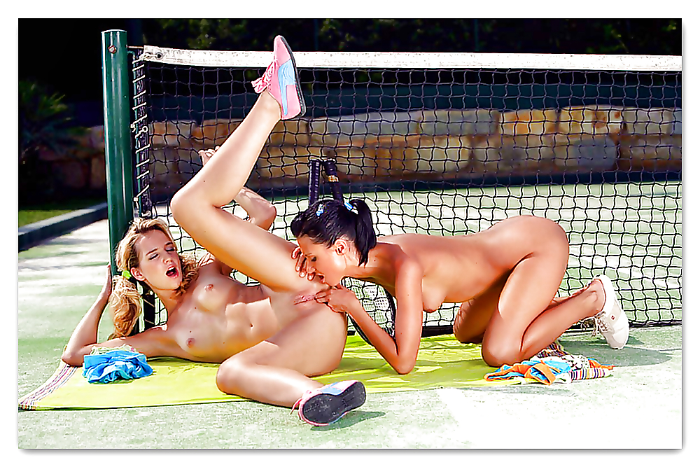 на теннисном корте лесби фото постепенно вытеснили
