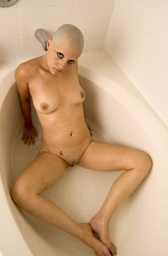Bald head black girls nude