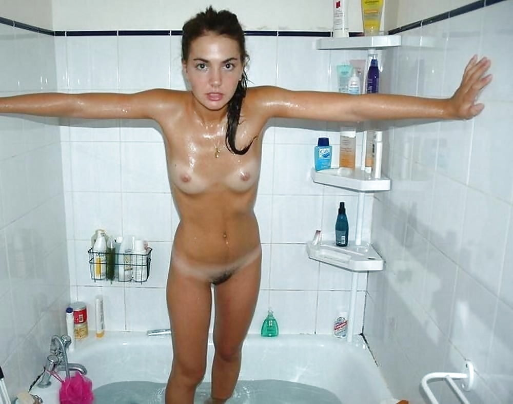 Naked young girls shower #3
