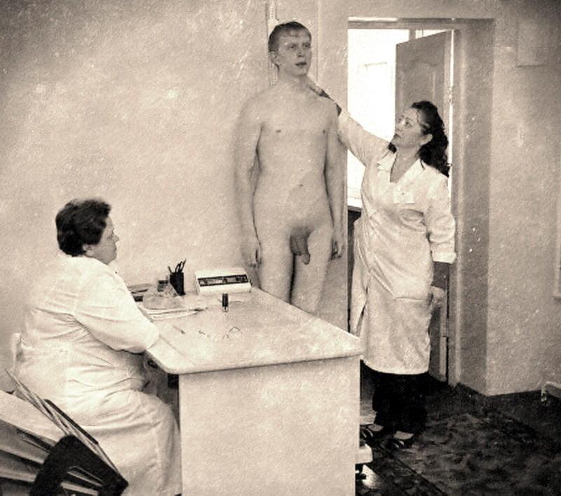 physical exam fetish Male