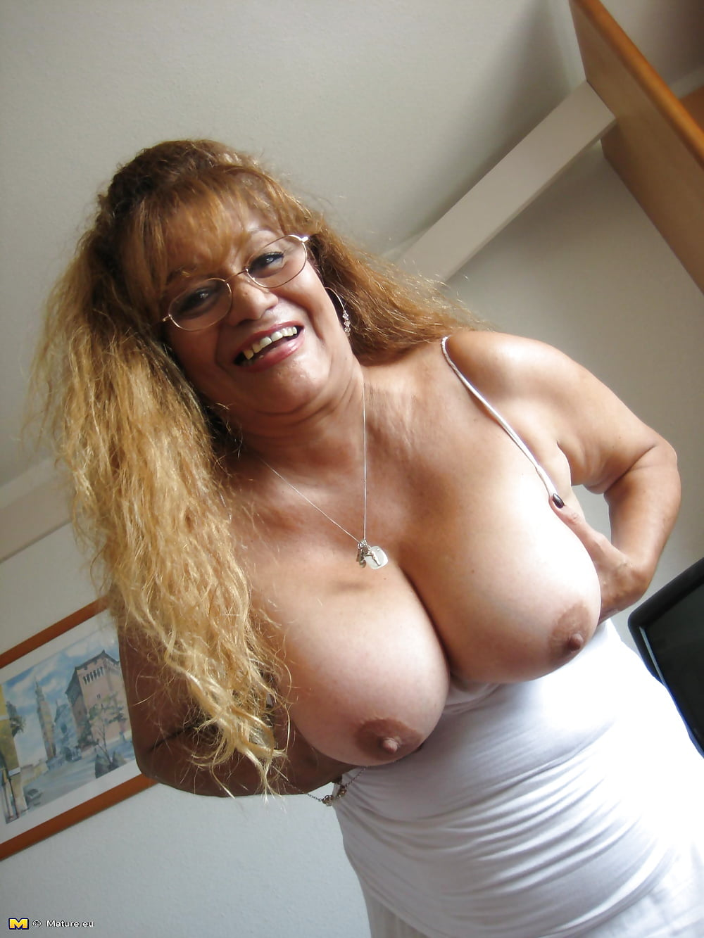 Busty Mature Redhead Wife