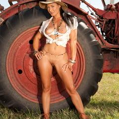 FHUTA Farm Girl Sandra Romain Takes A Huge Dick Up The But
