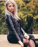 Sexy beauty Teens in Leather Jackets 8