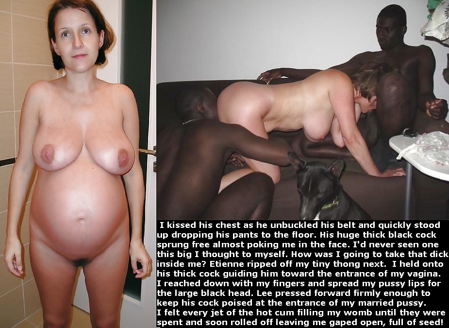 White wives pregnant by black men — photo 3