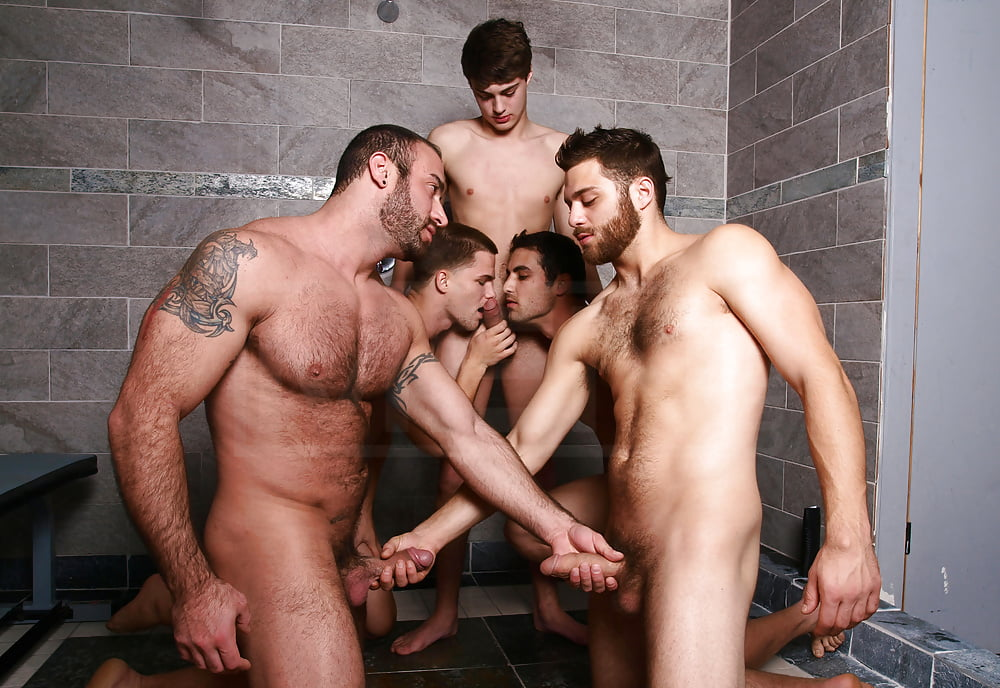 College shower orgy