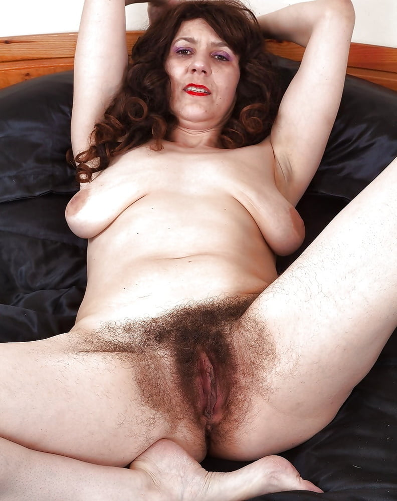 Hairy european mature 3
